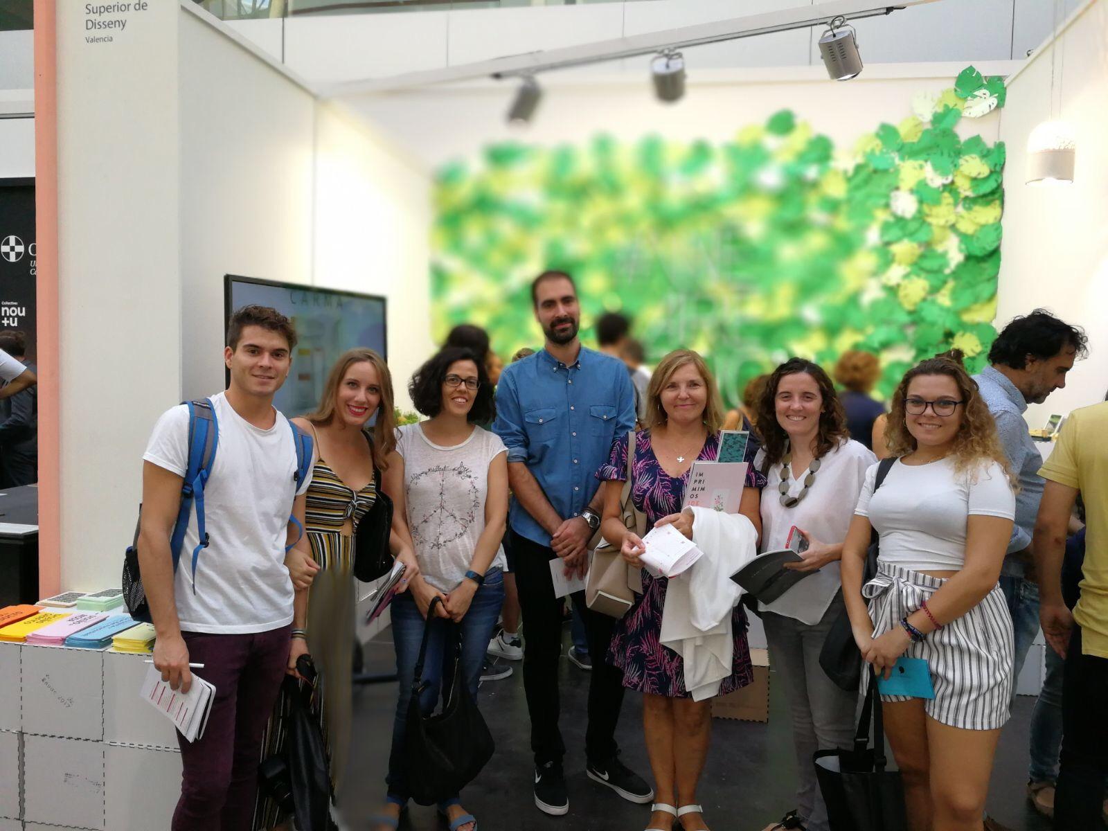Easd Alumnos De Interiores Visitan H Bitat 2017  ~ Escuela Superior De Diseño De Valencia