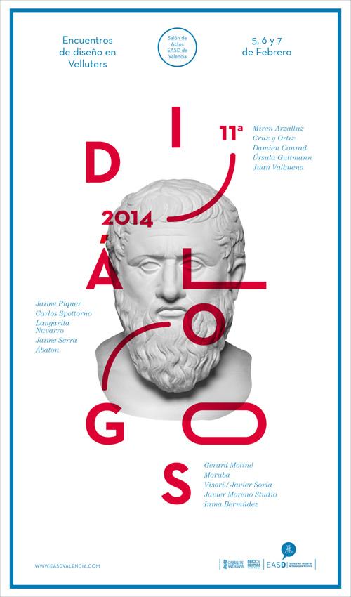 Cartel de Diálogos 2014